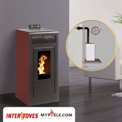 Kit poêle concentrique + conduit ventouse - MARINA Concentrique 11kw INTERSTOVES